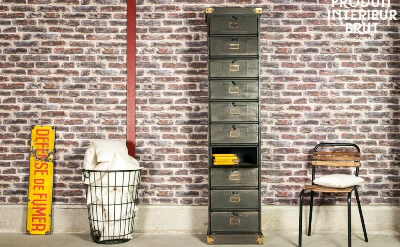Pour une décoration style loft, rendez-vous sur produitinterieurbrut.com