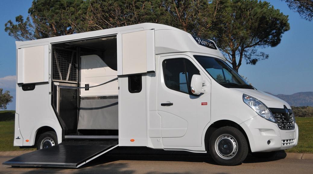 Carrosserie Ameline, la fabrication et l'entretien de véhicules destinés au transport de cheval