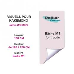Rollup Corner imprimeur PLV en ligne :