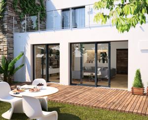 Portes fenêtres coulissantes, installation et rénovation par Tryba.ch